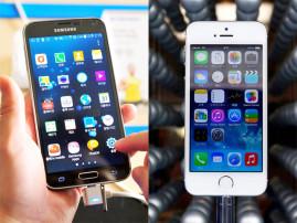 Сравнение iPhone 5 с Samsung Galaxy III